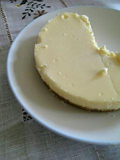 8月のチーズケーキ